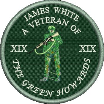 Green Howard Veteran Embroidered Polo Shirt